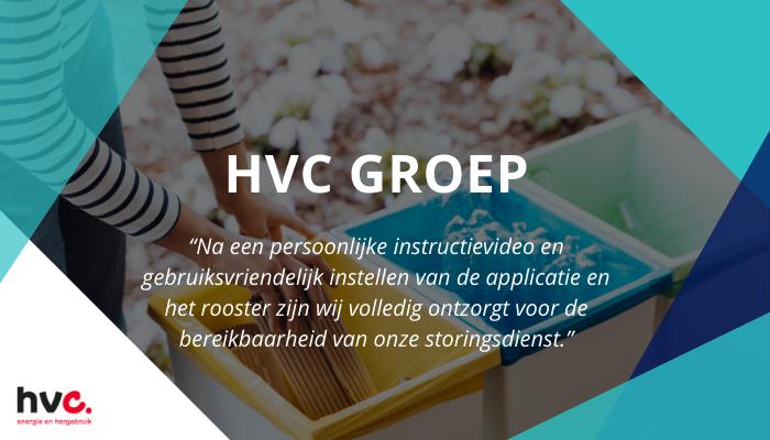 HVC Groep gaat voor makkelijkere bereikbaarheidsdiensten, dienstplanning, ruilen en overnemen