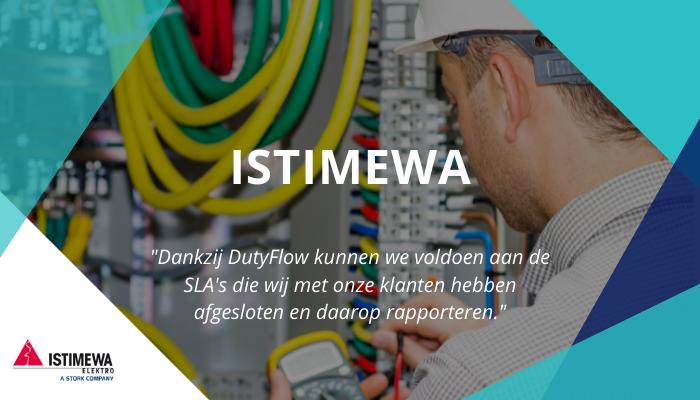 Istimewa Elektro kiest voor makkelijk storingsdiensten plannen, ruilen en overnemen