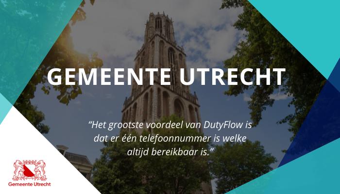 Gemeente Utrecht gaat voor een betere bereikbaarheid van hun service, oproepdiensten en gladheidsbestrijding